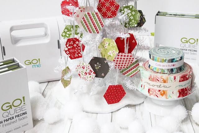 A Bit of Scrap Stuff Blog #ABitofScrapStuff #AccuQuilt #Christmas #modafabrics