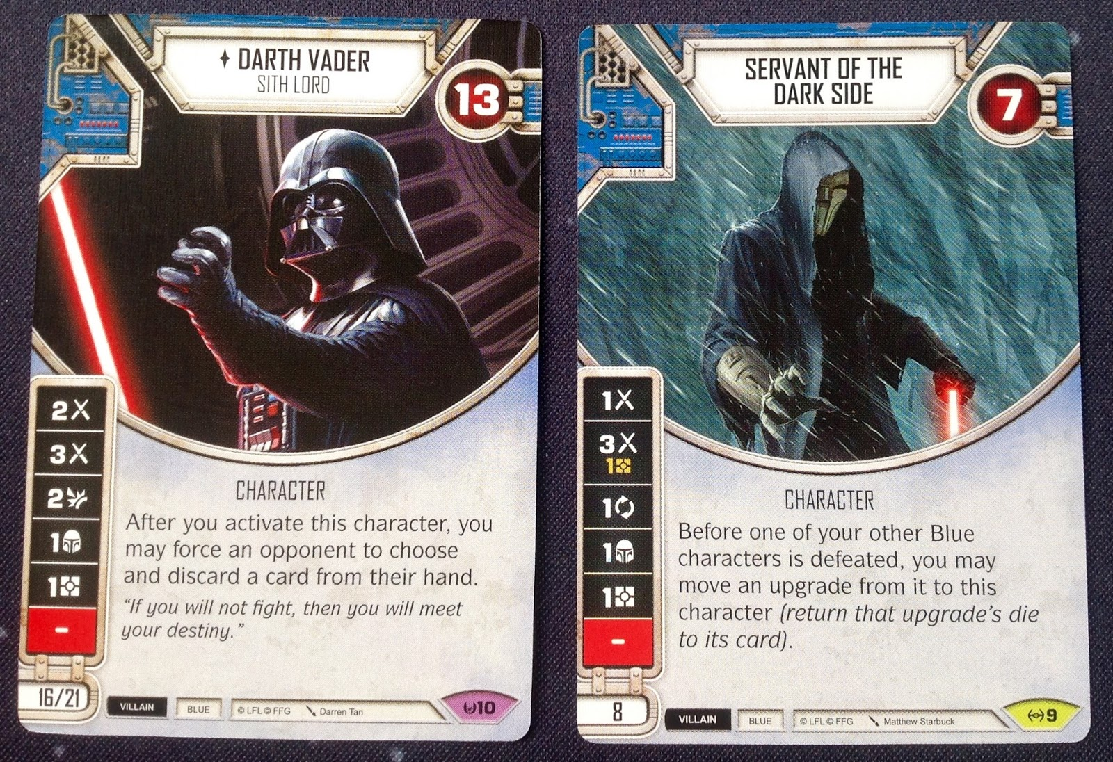 Star Wars Destiny Awakenings It Binds All Things Card Only
