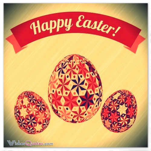 Happy Easter Greetings, Messages For Friends - Easter Greeting