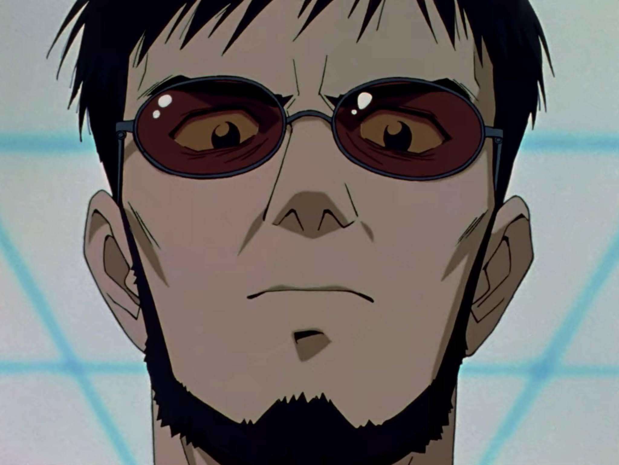 Gendo Ikari padri stronzi anime