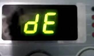 LG Waschmaschine Fehlercode dE1