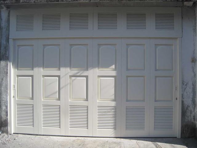 Model Pintu Garasi Besi Lipat 2017