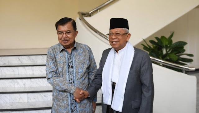 Ma'ruf Amin Membenarkan Akan Ada Menteri Dari PBNU