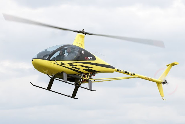 HeliSport CH-77 Ranabot ultralight helicopter