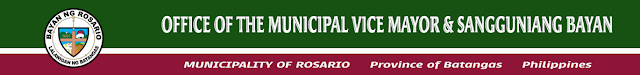 Office of the Vice Mayor and Sangguniang Bayan Rosario Batangas