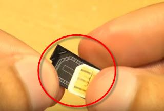 cara memasang kartu pada hp sony experia