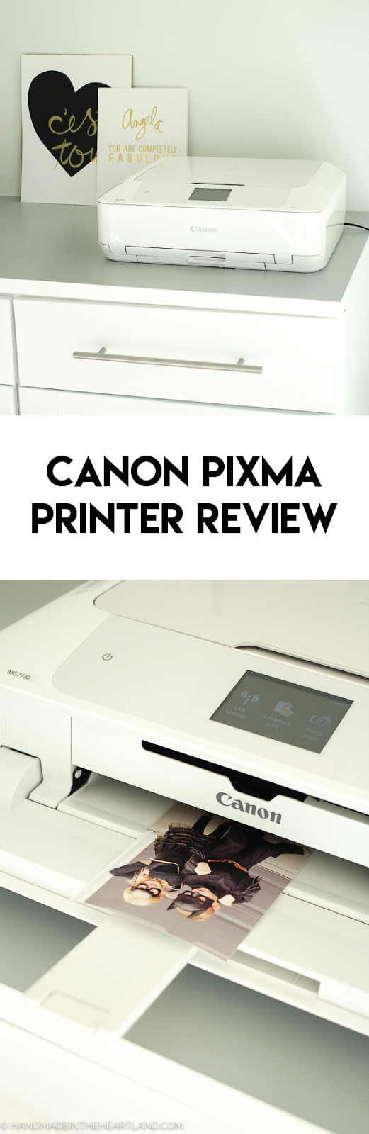 The Canon Pixma 7720 is a great home printer for photo and color prints