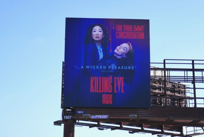 Killing Eve season 2 Emmy consideration billboard