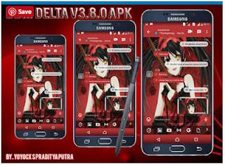 BBM Delta V3.8.0 Base BBM V3.1.0.13 Apk Terbaru