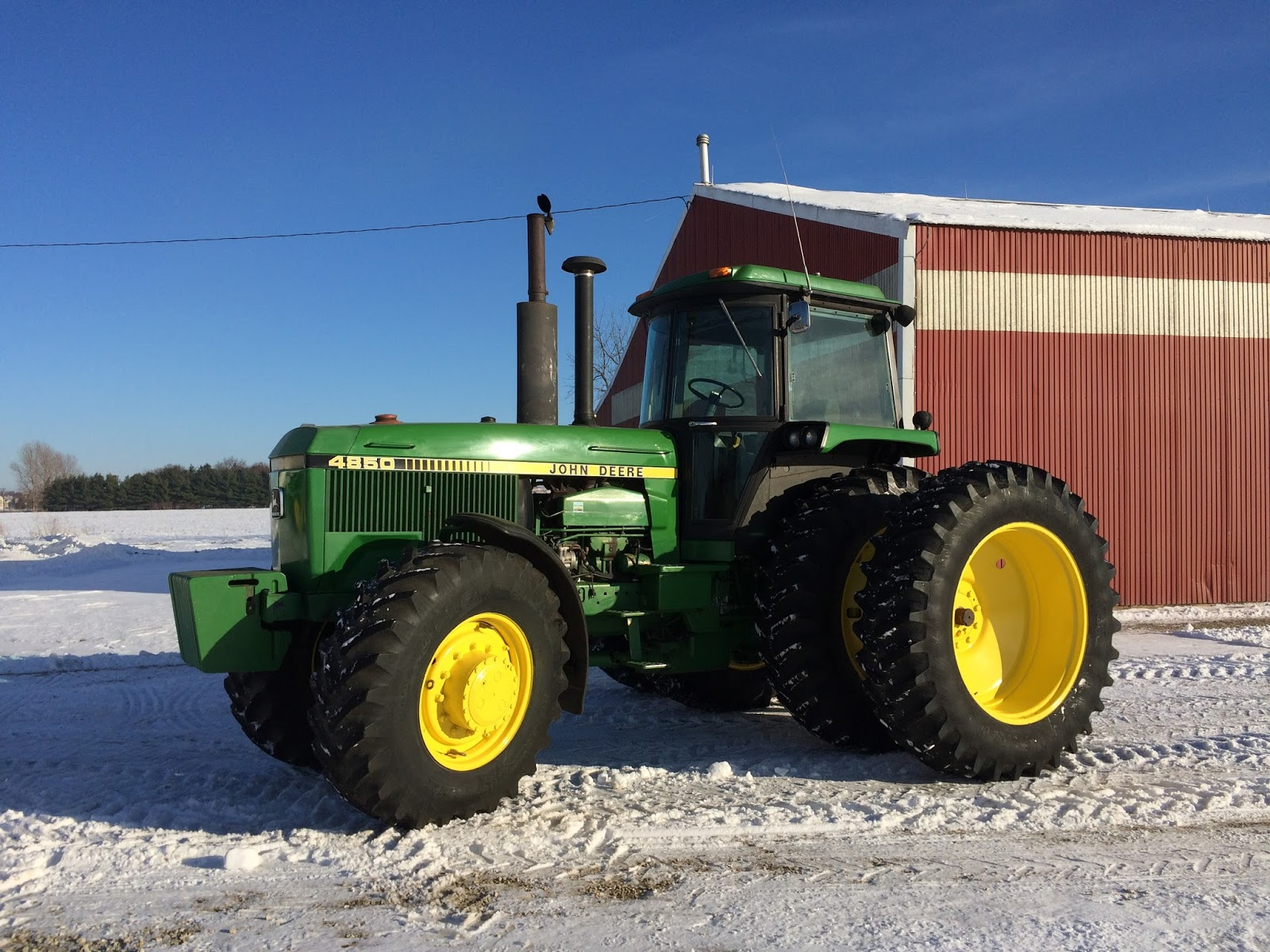 I Am Ing My John Deere 4850 This Tractor Is A 1982 Model With 9014 Hours The Identification Number Rw4850 P005425 It Has Fif Sd Shft