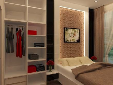 JASA EKSTERIOR INTERIOR DESAIN Desain 3D Interior Bedroom