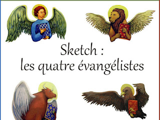 SKETCH LES 4 EVANGELISTES