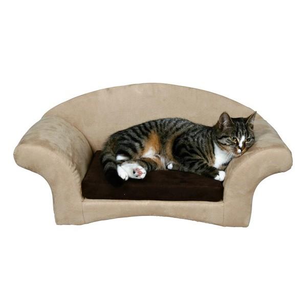 un lit douillet pour mon chat animacool. Black Bedroom Furniture Sets. Home Design Ideas