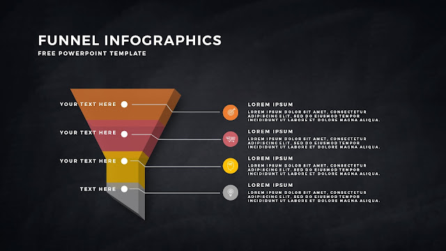 Free Infographic PowerPoint Templates for Marketing and Sales Funnel Presentation Slide 4