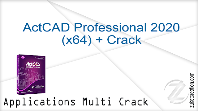 ActCAD Professional 2020 (x64) + Crack    494 MB