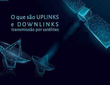 Transmissão por satélite: Uplinks e downlinks