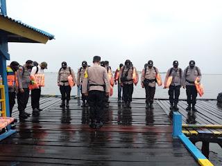 Lepas Personel Pam TPS, Kabag Ops Polres Pelabuhan Sampaikan Ini