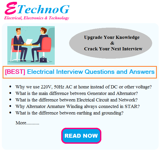 electrical interview question and answers