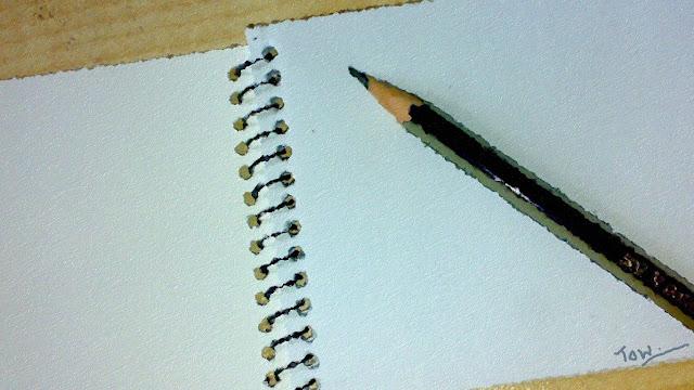 Pencil pad