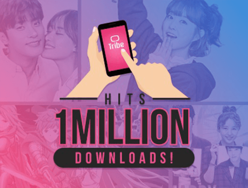 Report: Tribe Reaches One Million Downloads!