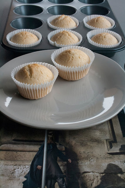 Muffin dolci agli albumi