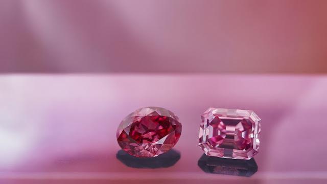 Certified pink diamonds