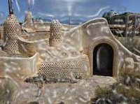 The Earthship Biotecture is constructed from sustainable and recycled materials. It grows its own food, produces its own power and recycles its own water. It opened in 1997 for the visitors to sleep in the durable pods but was there since 1960. It is fully operational with facilities such as Netflix, Apple TV and Wi-Fi etc.