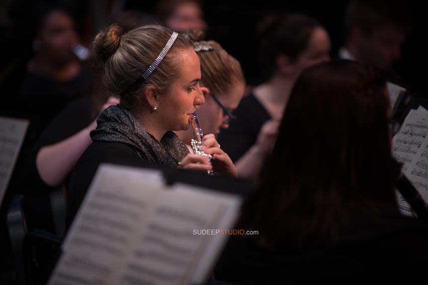 University of Michigan School of Music Wind Symphony Orchestra Flute - Sudeep Studio