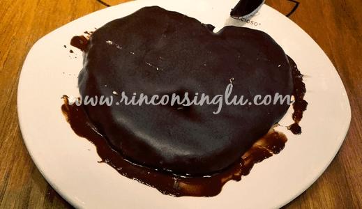 palmera de chocolate sin gluten celicioso