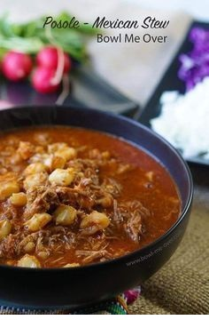 Authentic Posole - Mexican Stew Recipe