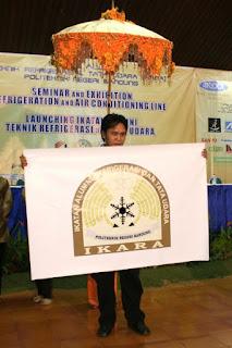 Alhamdulillah di louching-lah IKARA dengan arti Ikatan Alumni Teknik Refrigerasi dan Tata Udara Politeknik Negeri Bandung (Poltek ITB) tanggal 3 Mei 2008 sekaligus pemilihan ketua pertamanya.