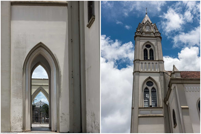 Igreja de Santa Cândida - detalhes