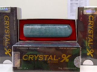 Natural Crystal X Untuk Merawat Organ Intim Wanita