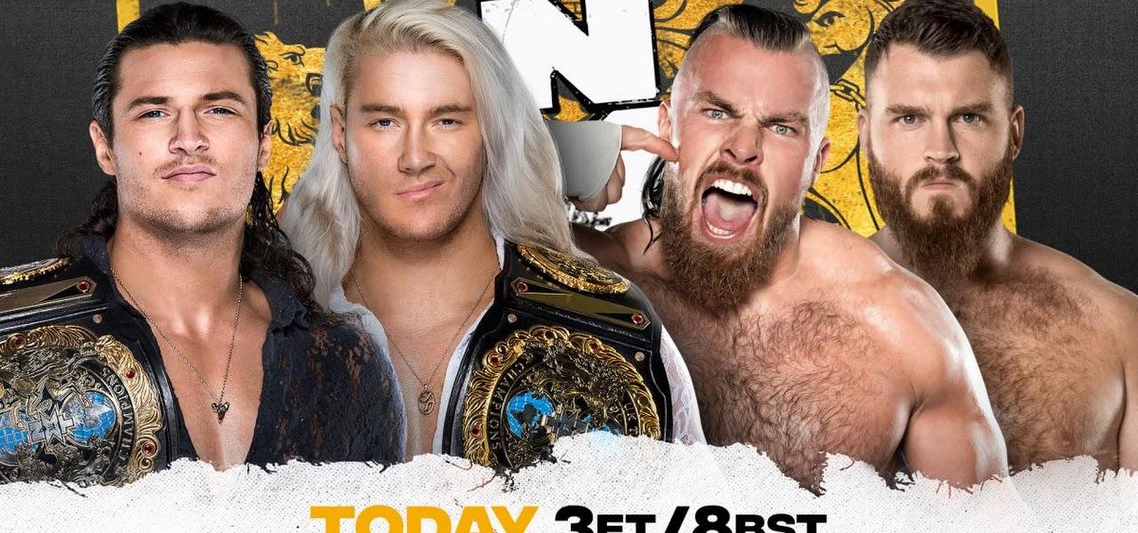 Cobertura: WWE NXT UK (16/09/2021) – Irmandade europeia!