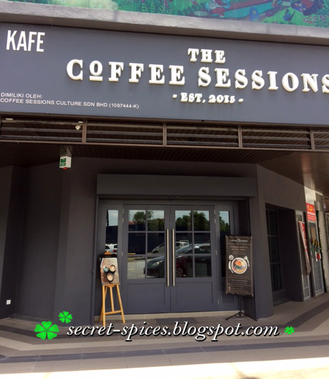 The Coffee Sessions @ Bandar Kinrara, Puchong, Malaysia
