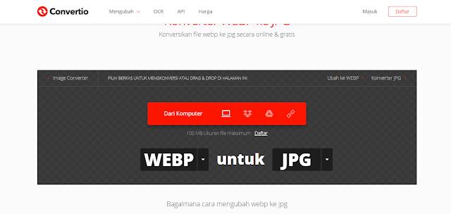 Cara Mudah Download Gambar Format Webp Menjadi JPG, PNG, JPEG