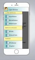 Tampilan Konsep Aplikasi Si Delta pada Menu Opsi yang Akan Mengarah ke Halaman Profil User