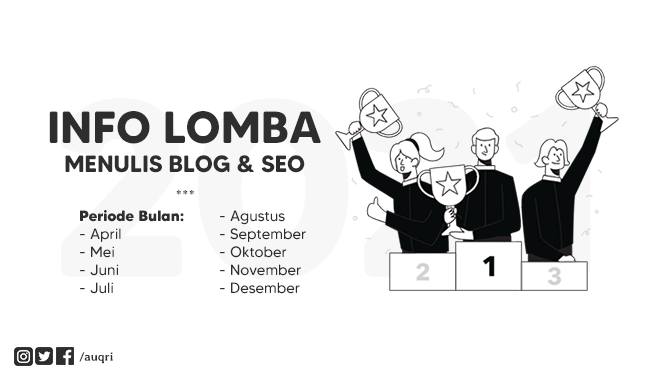 Info Lomba Blog Tahun 2021