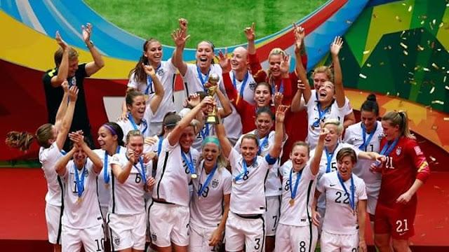 أمريكا بطل كأس العالم لكرة القدم للسيدات