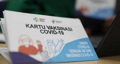 Download template sertifikat vaksin covid 19 ke tiga