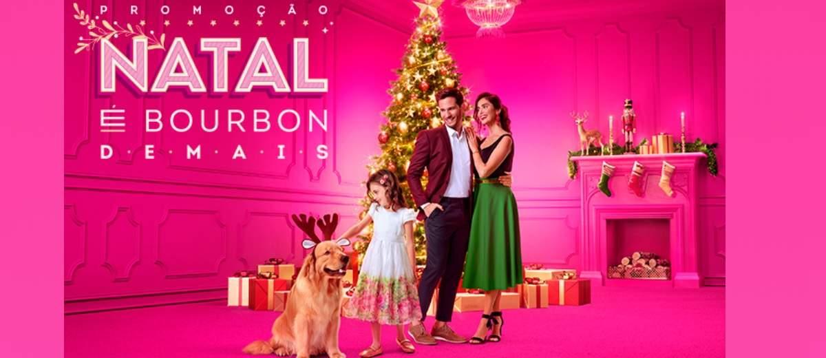 Promoção Bourbon Natal 2019 É Demais 1 Milhão Reais - 200 Prêmios 5 Mil Reais
