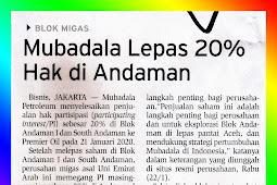 Mubadala Released 20% of Shares in Andaman