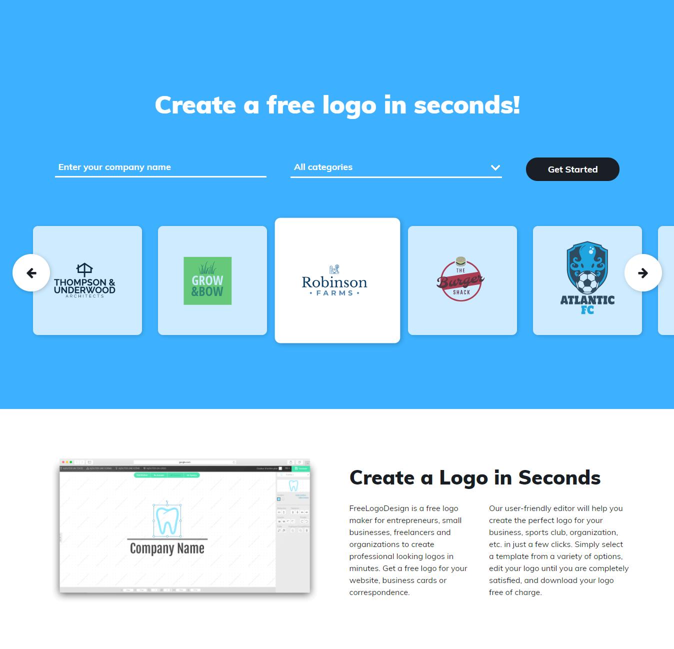 How to make free Online logo design for youtube, website or blog