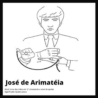 José de Arimateia em Libras