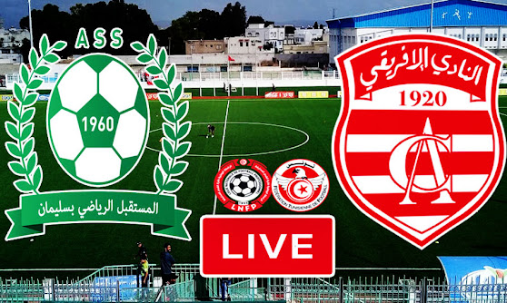 Ligue 1 Tunisie Match AS Soliman vs Club Africain Live Stream