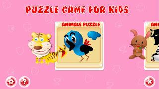 Game Puzzle Hewan Untuk Anak - Bermain Sambil Belajar