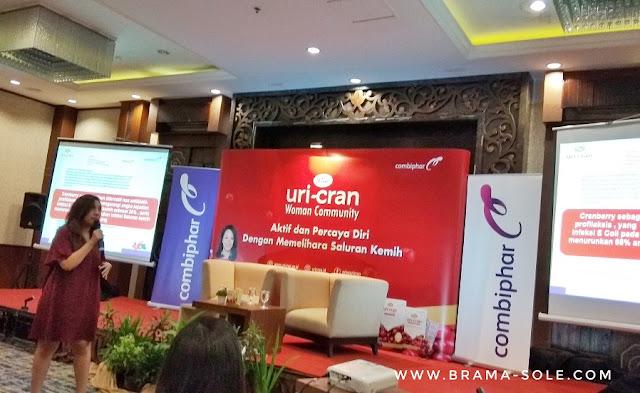 Michele Thalita, selaku Senior Brand Manager Prive Uricran