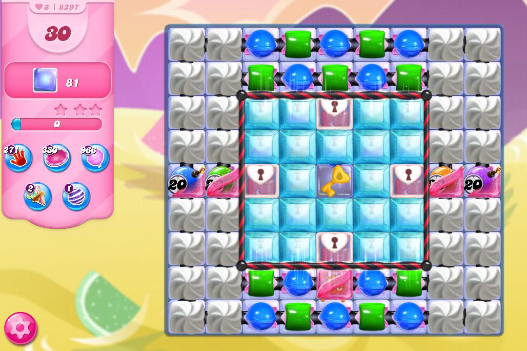 Candy Crush Saga level 8297