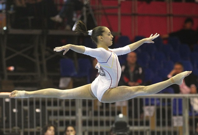 Remarkable, romanian gymnast sexy agree, rather