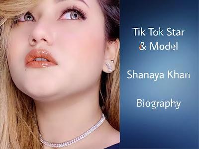 Shanaya Khan (Tik Tok Star) Biography in Hindi